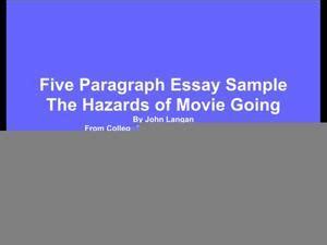 How to Write a 5 Paragraph Essay - Essay Writing Service